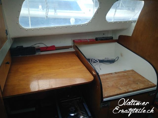 Hurley 22 Segelboot - 3/8