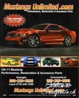 Ersatzteilkatalog für Ford Mustang 2005 - 2011
