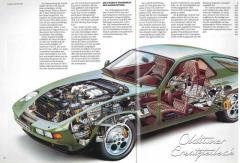 Prospekt Porsche 928S, VMA 7.83