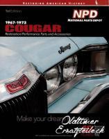Ersatzteilkatalog für Mercury Cougar 1967-1973