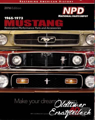 Ersatzteilkatalog Ford Mustang 1965 - 1973 - 1/1