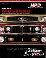 Ersatzteilkatalog Ford Mustang 1965 - 1973