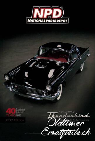 Ersatzteilkatalog für Ford Thunderbird 1955 - 1957 - 1/1