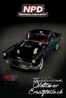 Ersatzteilkatalog für Ford Thunderbird 1955 - 1957